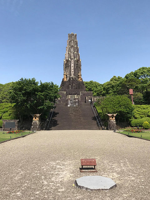 これが平和の塔