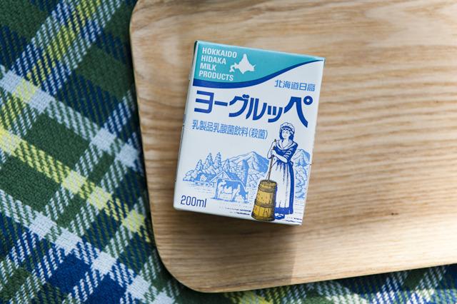 これは北海道のヨーグルッペ。宮崎のヨーグルッペとはパッケージや内容がちょっと違う。でもグループ会社なのだとか。