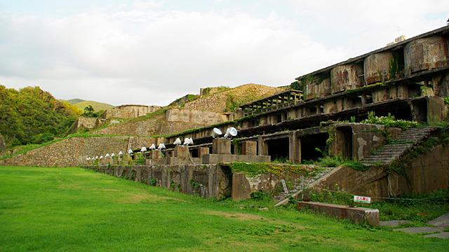 佐渡のギリシャっぽい巨大廃墟