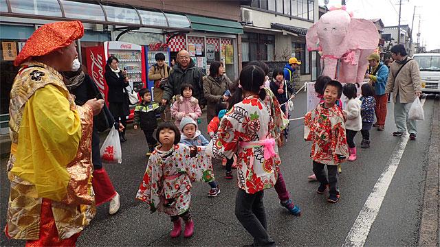冬の佐渡の一大イベントだった羽茂大市の今を楽しんだ
