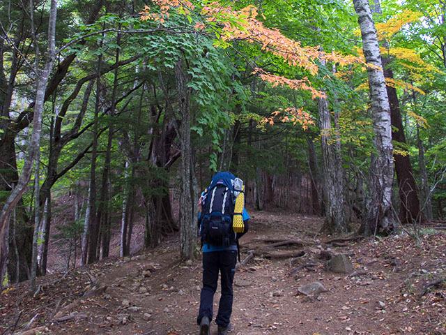 長野県から東京まで山を歩く、奥秩父主脈縦走