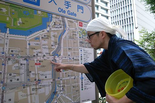 東京の大手町に温泉が湧いた